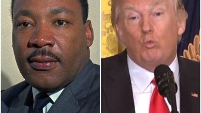 Protesten tegen Trumps antimigratiebeleid op Martin Luther King Day