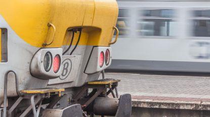 Spoorhinder tussen Brussel en Leuven door grondverzakking in Diegem