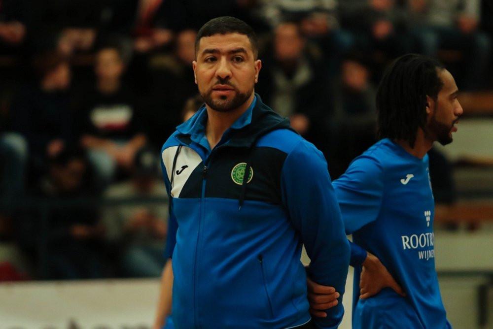 Samir Yaqoobi, trainer van Groene Ster.