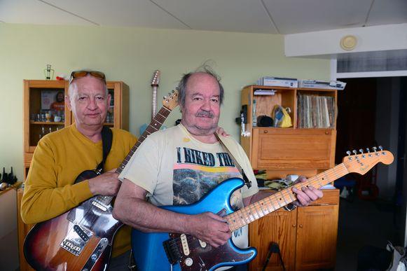 Big Bill (rechts) en zijn vaste bassist Jean Vandooren willen volgend jaar nieuwe nummers maken.