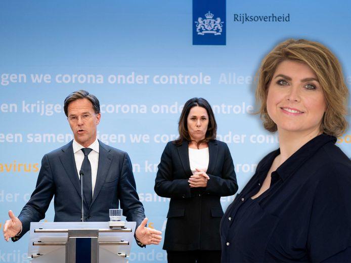 Mark Rutte, Irma Sluis. Inzet: Angela de Jong.