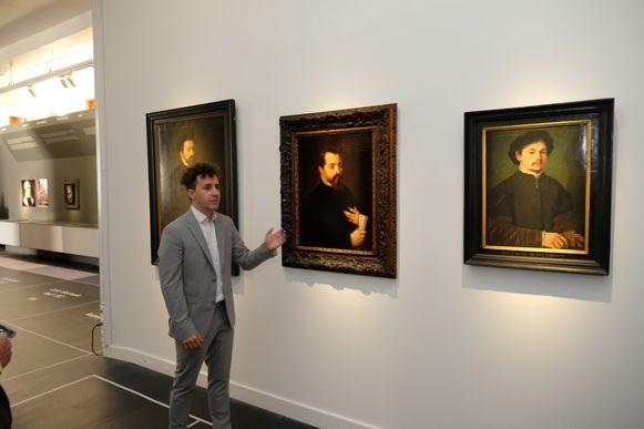 Gilbert van Schoonbeke tentoonstelling