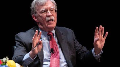 Trump sleept ex-adviseur Bolton voor de rechter om boekpublicatie tegen te houden
