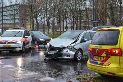 Een gewonde na ongeluk in Breda