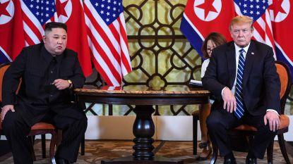 """Trump """"niet gehaast"""" om akkoord te sluiten met Kim Jong-un"""