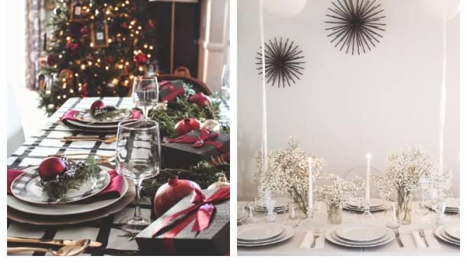 10 tips voor een spectaculaire kersttafel van internationale professionals: ga voor verschillende hoogtes en vermijd grote boeketten