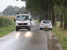 Chauffeur zweert bij tijdswinst op route via Hamelweg in Wijhe