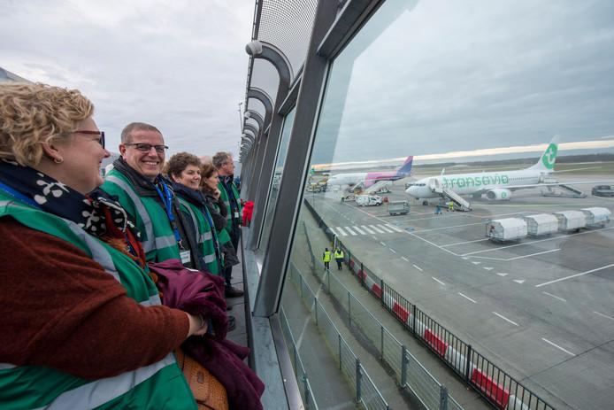 Elke maand organiseert Eindhoven Airport rondleidingen.