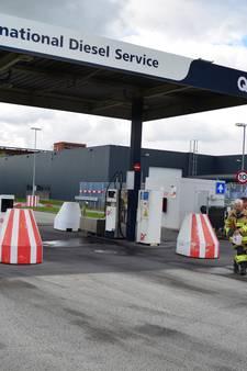 Diesel lekt uit pomp op bedrijventerrein Marketing Duiven
