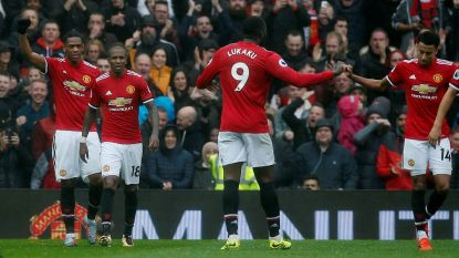 Martial wipt over Belgische muur van Spurs, Lukaku geeft assist