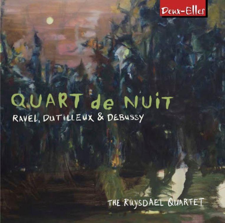 Ruysdael Kwartet – Quart de nuit: Ravel, Dutilleux & Debussy  Beeld