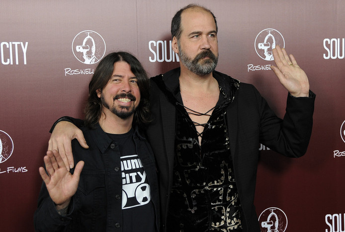 Dave Grohl et Krist Novoselic