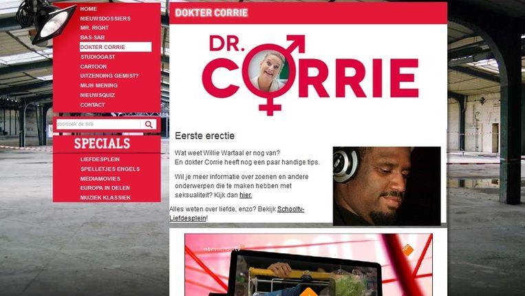 Dokter Corrie op SchoolTV Beeld SchoolTV