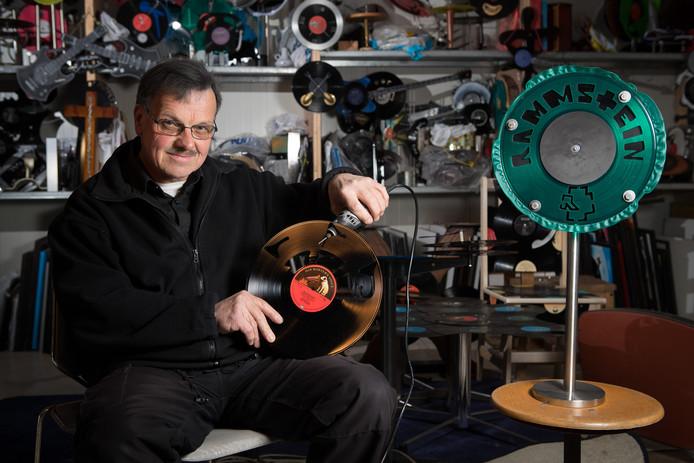 Vinylkunstenaar Henk Zielman