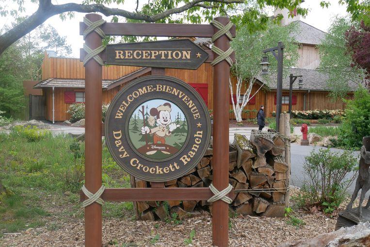 Welkom op de Davy Crockett Ranch