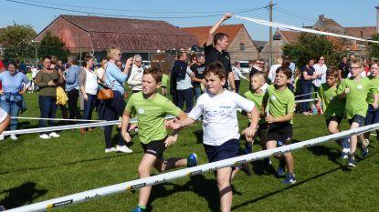 Leerlingen Ruien beleven sportieve namiddag op scholenveldloop