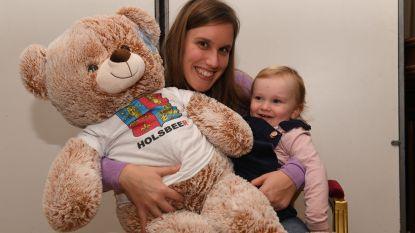 Tweejarige Fiona is 10.000e inwoner van Holsbeek