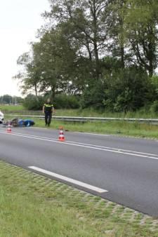 Motorrijder raakt gewond bij ongeval in Heeten