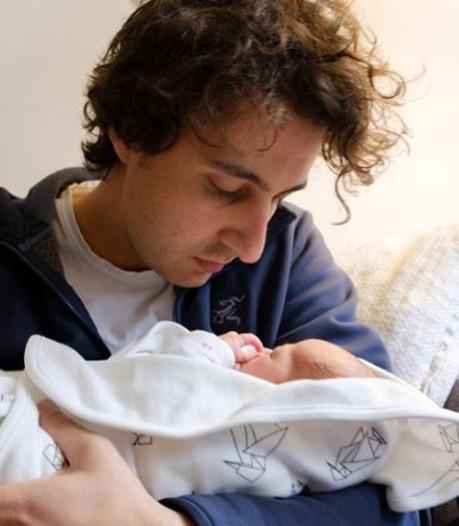 Jesse Klaver: Ik was heerlijk mijn baby aan het knuffelen