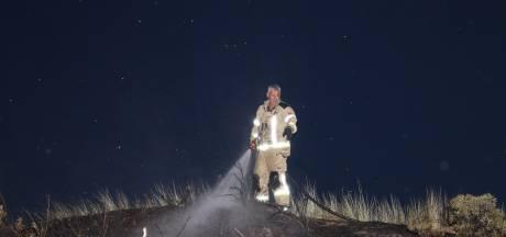 Brandje in duin bij Vlissingen