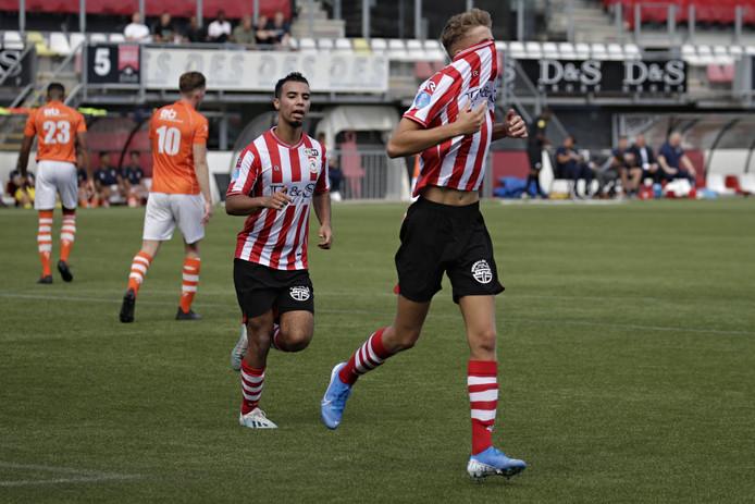 Sven Mijnans heeft Jong Sparta vanaf de stip op 2-1 gebracht.