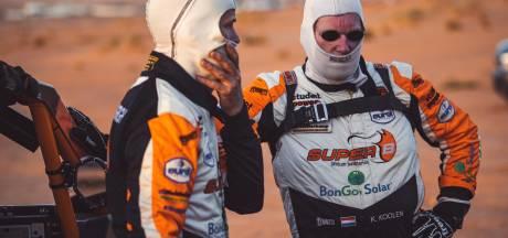Jurgen van den Goorbergh overleeft slagveld bij Dakar-opening