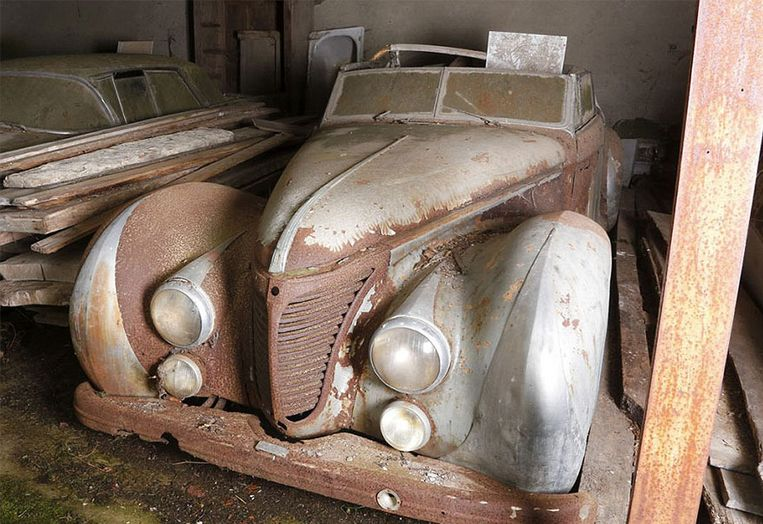Deze Talbot-Lago was ooit eigendom van de Egyptische koning Faroek.