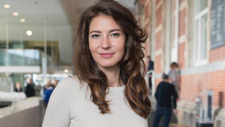 Adriana Gonzales Hulshof: 'Amsterdam is dé plek voor experiment en jong talent.' Beeld Charlotte Odijk