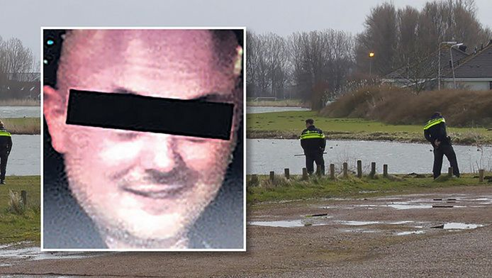 René F. (inzet) werd in de avond van 30 maart in Simonshaven beschoten maar wist ondanks zijn verwondingen te ontkomen.