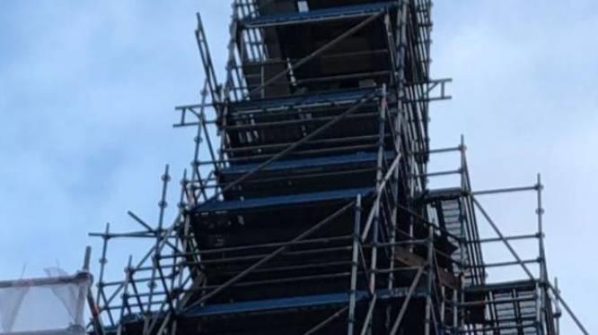 Sint-Catharinakerk jaar lang in de steigers, renovatie kost 1.000.000 euro