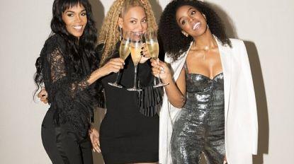 Beyoncé zet een stapje in de wereld met haar Destiny's Child-collega's