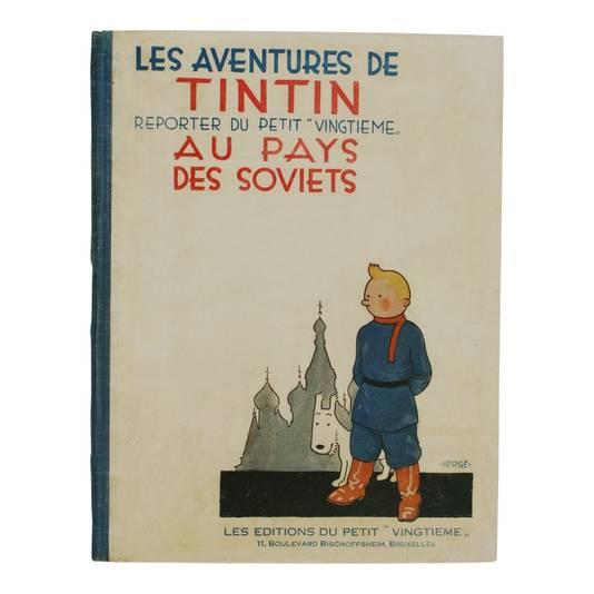 Een eerste exemplaar van Kuifje bij de Sovjets uit 1930 bracht afgelopen maand liefst 30.000 euro op