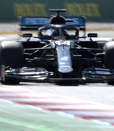 GP d'Espagne: les Mercedes dominent les essais libres