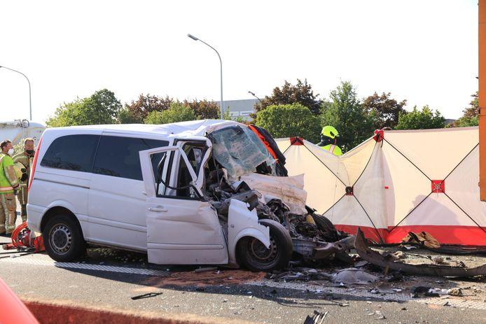 Hicham liet het leven op de E17 in Sint-Niklaas.