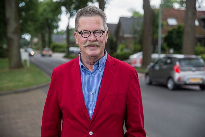 Wethouder Hans van der Sleen is verantwoordelijk voor de financiën in de gemeente Voorst.