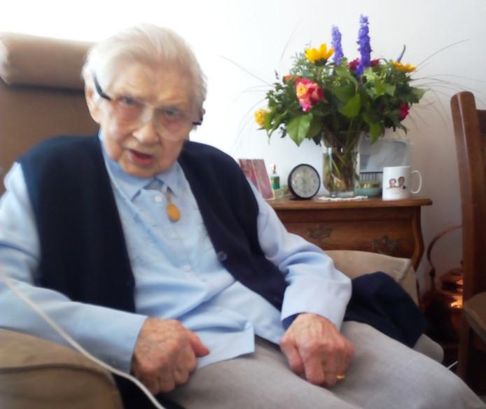 De 107-jarige Dien Brinkman.