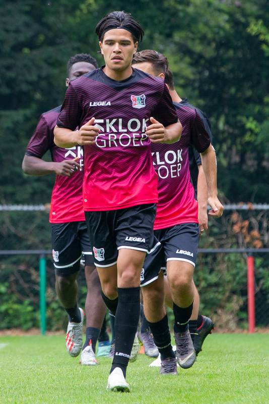 26-06-2019:  Eerste training NEC Nijmegen, seizoen 2019/2020 De Gelderlander SPORT DG FOTO NIJMEGEN Ragnar Oratmangoen