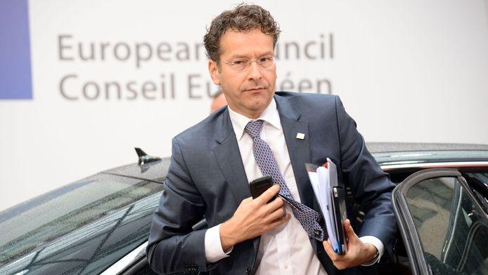 Minister van Financiën Jeroen Dijsselbloem.