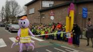 Slagboom aan schoolstraten in Wijnendale en Don Bosco