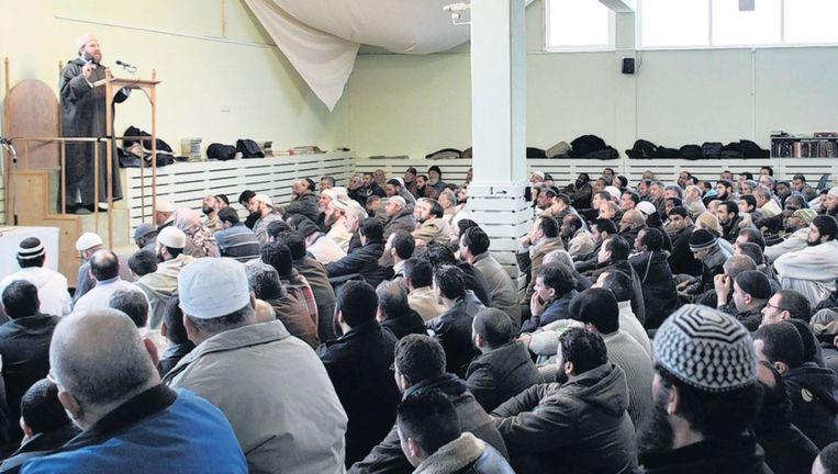 Eén van de salafistische moskeeën in Nederland: de As Soennah-moskee in Den Haag. Beeld anp