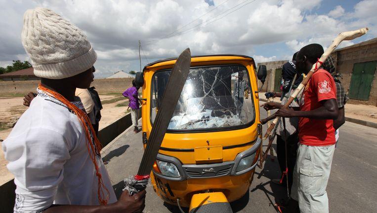 Een riskja bij Maiduguri Beeld AP
