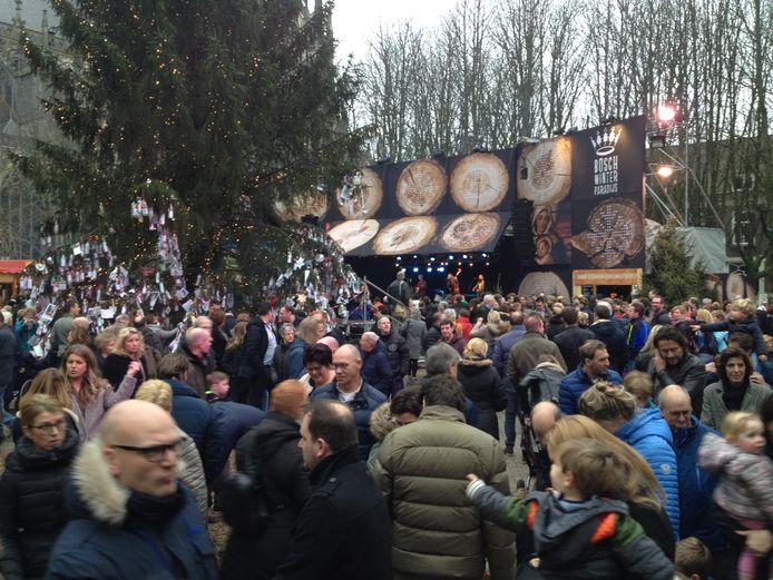 Het Bosch winterparadijs was in 2015 volgens de betrokkenen een succes.