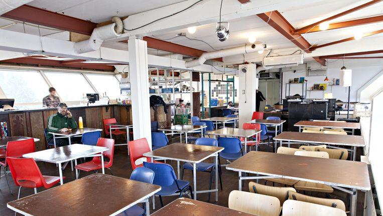 Het pand, een voormalig kantoor, zal twee jaar als creatief bolwerk dienen. Beeld Roy Del Vecchio