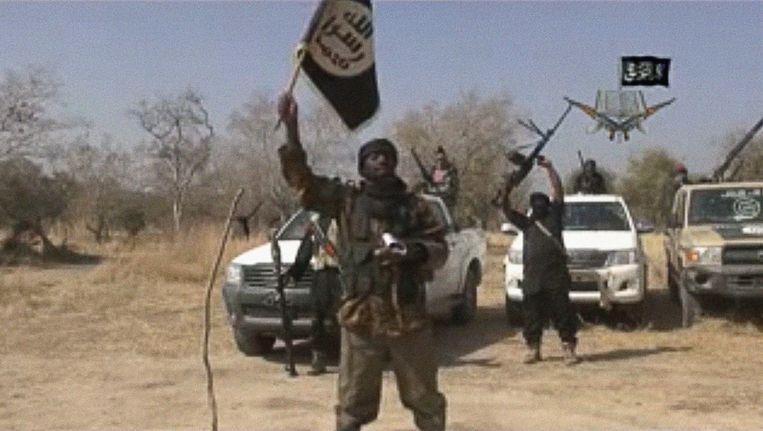 Archiefbeeld van Boko Haram-strijders.