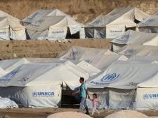 Tentenkamp op de Neude als protest tegen vluchtelingenkampen