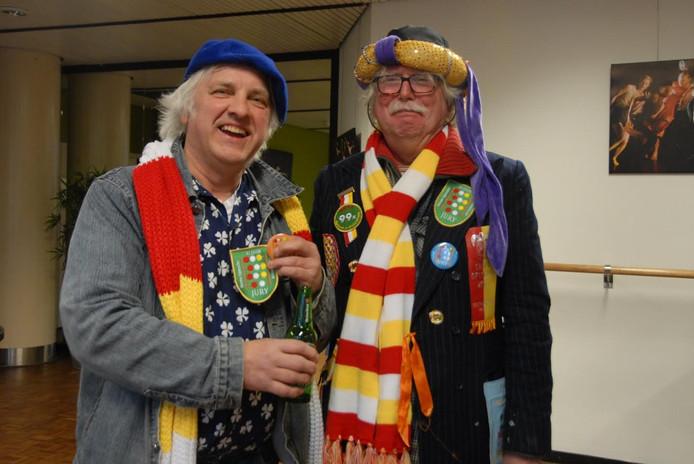 Wim Habraken en Bert Vogels zijn respectievelijk 11 en 12 jaar jurylid.