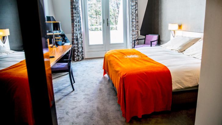 Geen gouden kranen meer in het nieuwe Oranje-hotel