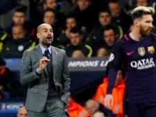 Guardiola:  'Ik wil als fan van Barcelona dat Messi daar blijft'