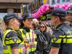 Ook politie kleurt roze in Tilburg