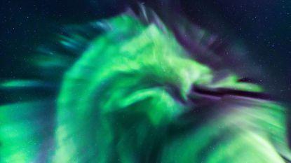 NASA onder de indruk: Australiërs zien draak boven IJsland vliegen